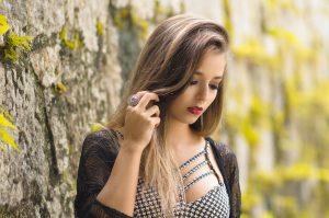 Ensaio Feminino de Moda - Parque Lage, Rio de Janeiro