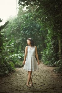 Ensaio Fotográfico Feminino - Parque Lage, Rio de Janeiro
