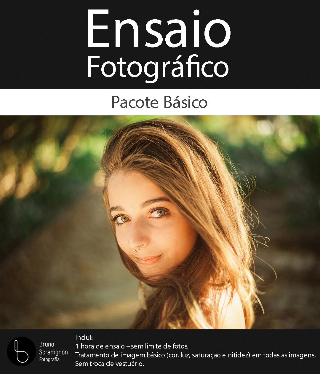 ensaio fotográfico básico
